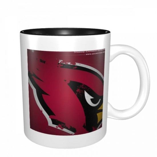 Easy grip with handle, NFL Arizona Cardinals Mugs #387732 used for home and office