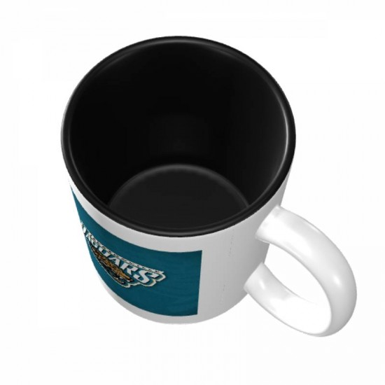 Easy grip with handle, NFL Jacksonville Jaguars Mugs #384957 used for home and office