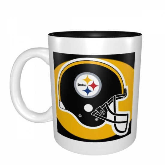 High quality ceramic Pittsburgh Steelers Mugs #386225 for hot and cold drinks